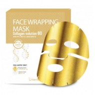 Маска для лица FW с коллагеном BERRISOM Face Wrapping Mask Collagen Solution 80 27 гр