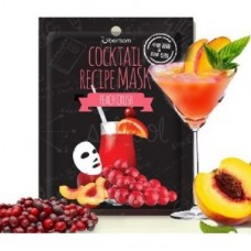 Маска для лица BERRISOM Cocktail Recipe Mask Peach Crush 20 гр