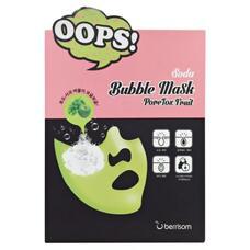 Маска для ухода пор BERRISOM Soda Bubble Mask PoreTox Fruit 18 мл