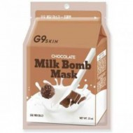 Маска для лица тканевая BERRISOM G9 SKIN MILK BOMB MASK Chocolate 21 мл