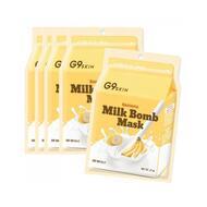 Маска для лица тканевая BERRISOM G9 SKIN MILK BOMB MASK-Banana 21 мл