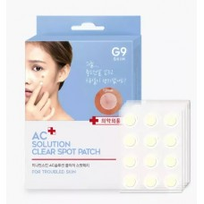 Патчи от акне BERRISOM G9 AC solution ACNE clear spot patch 60 шт