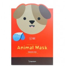 Маска тканевая с гиалуроновой кислотой BERRISOM Animal mask series Dog 25 мл