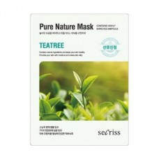 Маска для лица тканевая ANSKIN Secriss Pure Nature Mask Pack Teatree 25 мл