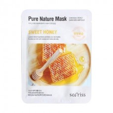 Маска для лица тканевая ANSKIN Secriss Pure Nature Mask Pack Sweet honey 25 мл