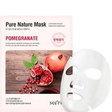 Маска для лица тканевая ANSKIN Secriss Pure Nature Mask Pack Pomeganate 25 мл