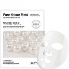 Маска для лица тканевая ANSKIN Secriss Pure Nature Mask Pack White pearl 25 мл