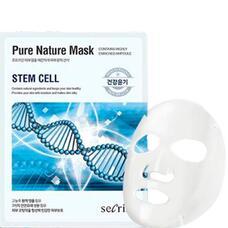 Маска для лица тканевая ANSKIN Secriss Pure Nature Mask Pack tem cell 25 мл