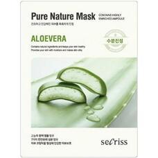 Маска для лица тканевая ANSKIN Secriss Pure Nature Mask Pack Aloevera 25 мл