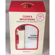 Вода очищающая с экстрактом граната Clean & Brightening Pomegranate Cleansing Water 500 гр