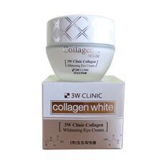 Крем для век 3W CLINIC осветляющий с коллагеном Collagen Whitening Eye Cream 35 мл