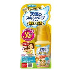 Спрей 3 в 1 от комаров, клещей и мошек с гиалуроновой кислотой Fumakilla Angel Beast Premium 60 мл