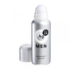 Шариковый дезодорант антиперспирант для мужчин с серебром Shiseido Ag 24DEO без запаха 60 мл