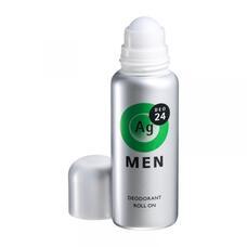 Шариковый дезодорант антиперспирант для мужчин с серебром Shiseido Ag 24DEO цитрусовый аромат 60 мл