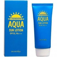Лосьон солнцезащитный увлажняющий SECRET KEY Thanakha Aqua Sun Lotion SPF35,PA+++ 100 гр