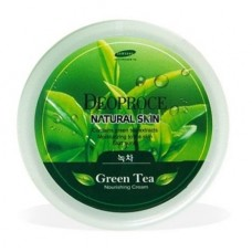 Крем для лица и тела с экстрактом зеленого чая DEOPROCE NATURAL SKIN GREENTEA NOURISHING CREAM 100 гр