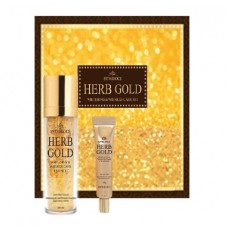 Набор уходовый антивозрастной ESTHEROCE HERB GOLD WHITENING & WRINKLE CARE ESSENCE & EYE CREAM SPECIAL SET 135мл/40гр