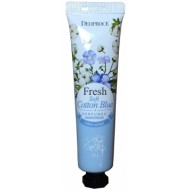Крем для рук парфюмированный DEOPROCE SOFT COTTON BLUE PERFUMED HAND CREAM 30 г