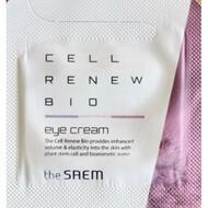 Крем для глаз антивозр пробник THE SAEM Cell Renew Bio Eye Cream - Sample N 1 мл