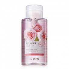 Тоник для лица THE SAEM Botanica Rose Moisturizing Toner 400 мл