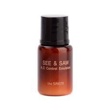 Эмульсия контроль чистоты и жирности кожи пробник THE SAEM SEE & SAW AC Control Emulsion 5 мл