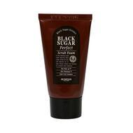 Пенка-скраб для умывания с экстрактом черного сахара SKINFOOD Black Sugar Perfect Scrub Foam 180 гр