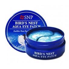 Гидрогелевые патчи для глаз с ласточкиным гнездом SNP Bird's Nest Aqua Eye Patch
