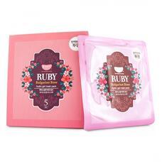 Маска для лица KOELF гидрогелевая с экстрактом болгарской розы RUBY & BULGARIAN ROSE, 30 гр