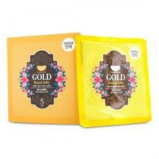 Маска для лица гидрогелевая KOELF с золотом и маточным молочком GOLD & ROYAL JELLY MASK, 30 гр
