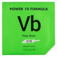 Маска для лица IT`S SKIN POWER 10 FORMULA VB с витамином B (восстанавливающая) 25 мл