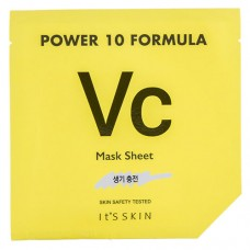 Маска для лица IT`S SKIN POWER 10 FORMULA VC с витамином С (для сияния кожи) 25 мл