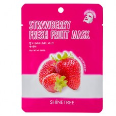 Маска для лица SHINETREE FRESH FRUIT с экстрактом клубники 23 г