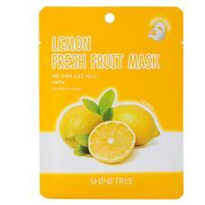 Маска для лица SHINETREE FRESH FRUIT с экстрактом лимона 23 г