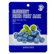 Маска для лица SHINETREE FRESH FRUIT с экстрактом черники 23 г