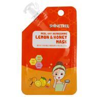 Маска для лица SHINETREE Лимон и мед (освежающая) 15 мл