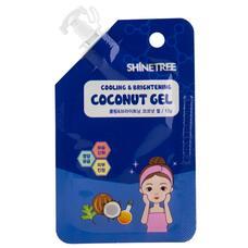 Гель для лица SHINETREE охлаждающий с экстрактом кокоса и ментола 12 мл