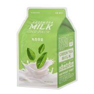Маска для лица A`PIEU Зеленый чай (с молочными протеинами) 21 гр