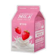 Маска для лица A`PIEU Клубника (с молочными протеинами) 21 гр