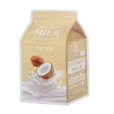Маска для лица A`PIEU Кокос (с молочными протеинами) 21 гр