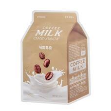 Маска для лица A`PIEU Кофе (с молочными протеинами) 21 гр
