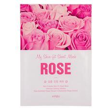 Маска для лица A`PIEU MY SKIN-FIT SHEET MASK с экстрактом дамасской розы (успокаивающая) 25 г