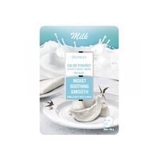 Маска тканевая молочная DEOPROCE COLOR SYNERGY EFFECT SHEET MASK SKY BLUE 20 гр