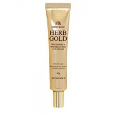 Крем для век омолаживающий GREENCOS ESTHEROCE HERB GOLD WHITENING & WRINKLE CARE EYE CREAM 40 г