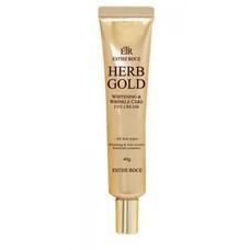 Крем для век омолаживающий GREENCOS ESTHEROCE HERB GOLD WHITENING & WRINKLE CARE EYE CREAM 40 г