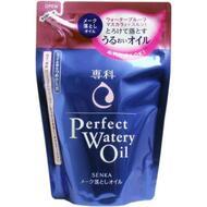Гидрофильное масло для снятия макияжа с гиалуроновой кислотой и протеинами шелка (мягкая экономичная упаковка) SHISEIDO SENKA Perfect Watery Oil 180 мл