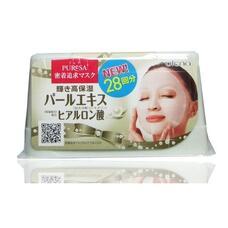 Маска с экстрактом жемчуга и гиалуроновой кислотой для придания коже здорового блеска UTENA Puresa Daily 28 х 10.7мл
