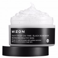 Маска для лица MIZON ENJOY FRESH-ON TIME BLACK BEEN MASK 100 мл