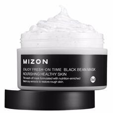 Маска для лица MIZON ENJOY FRESH-ON TIME BLACK BEEN MASK 100 мл