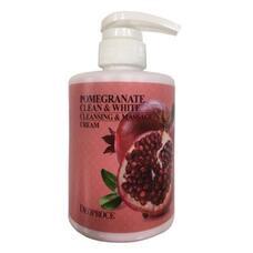 Крем для тела массажный очищающий с экстрактом граната DEOPROCE POMERGRANATE CLEAN WHITE CLEANSING MASSAGE CREAM 450 мл