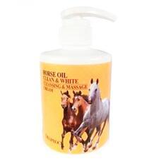 Крем для тела массажный очищающий с лошадиным жиром DEOPROCE HORSE OIL CLEAN WHITE CLEANSING MASSAGE CREAM 450 мл